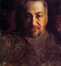 Eakins Thomas Self portrait Sun