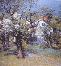 enneking through the orchard c1895