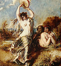 Etty William Bacchante Playing the Tambourine
