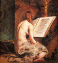 Etty William The Penitent Magdalen