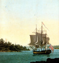 MPA George Evans Port Jackson from Dawes Point, 1809 sqs