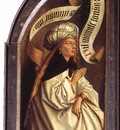 Eyck Jan van The Ghent Altarpiece Erythraean Sibyl