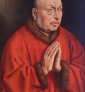 Eyck Jan van The Ghent Altarpiece The Donor detail