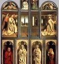 Eyck Jan van The Ghent Altarpiece wings closed