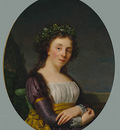 Fabre Francois Xavier Portrait of Madame Joubert