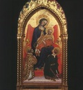 Gentile da Fabriano Madonna and Child, with Sts  Lawrence an