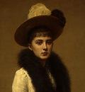 Fantin Latour Portrait of Sonia 1890 detail1
