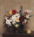 Fantin Latour The Rosy Wealth of June