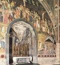 Andrea da Firenze Frescoes on the central wall, 1365 68, Cap