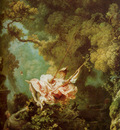 Fragonard Honore The Swing