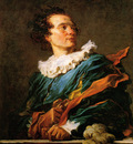 Fragonard Jean Honore Portrait of a Young Man