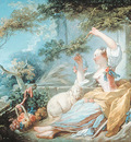 Fragonard shepherdess abt1752