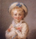Fragonard A Boy as Pierrot