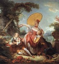 Fragonard The Musical Contest
