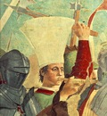 Piero della Francesca The Arezzo Cycle Battle between Heraclius and Chosroes detail [01]