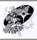 Freas Frank Kelly AHSI46 Victorian Space Girl D50