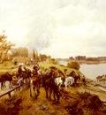 Friedlander Alfred Ritter von Malheim The Retreat