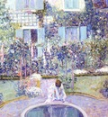 frieseke garden mirror c1913