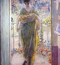 frieseke the kitchen door c1913
