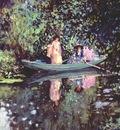 frieseke two ladies in a boat c1905