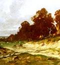 Frolicher Otto Landschaft Bei Barbizon