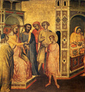Gaddi Taddeo St Eloi Before King Clotarius