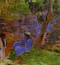 Gauguin At The Pond