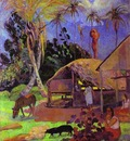 Gauguin Black Pigs