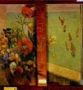 Gauguin Bouquet Of Flowers With A Window Open To The Sea