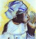 Gauguin Head Of A Negress