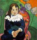 Gauguin M Loulou, 1890, 55 x 46 2 cm, Barnes foundation