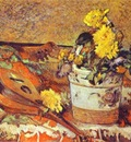 Gauguin Mandolina And Flowers