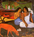 Gauguin Paul Passing time Sun