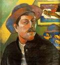gauguin portrait de lartiste self portrait , ca 1893 94,