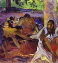 Gauguin The Fisherwomen Of Tahiti