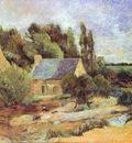Gauguin Washerwomen At Pont Aven