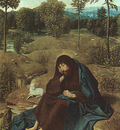 Geertgen tot Sint Jans Sain John in the wilderness, 1490 95,
