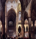 Genisson Jules Victor Church interior Sun