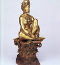 Gerome Jean Leon Corinthe, A Seated Female Nude