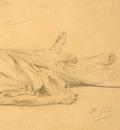 Gerome Jean Leon The Dead Caesar c1859 detail3