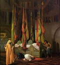 Gerome Jean Leon The Tombe of Hazrat Imam Hisain Allahis Salam