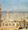 Gerome Jean Leon View Of Cairo
