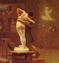 Gerome Pygmalion And Galatea
