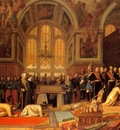 The Reception of the Siamese Ambassadors at Fontainebleau