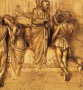 Ghiberti Lorenzo Isaac Sends Esau to Hunt panel from the eastern door