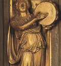 Ghiberti Lorenzo Sibyl detail from the eastern door
