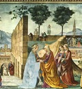 GHIRLANDAIO VISITATION STORIES OF THE BAPTIST , S MARIA NOV