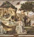 GHIRLANDAIO STIGMATAZATION OF ST FRANCIS, CAPPELLA SASSETTI,