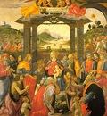 GHIRLANDAIO ADORATION OF THE MAGI, SPEDALE DEGLI INNOCENTI,