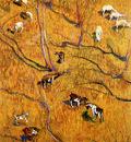 Giacometti Giovanni Sunny slope with goats Sun